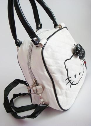 Детская сумка hello kitty. уценка3