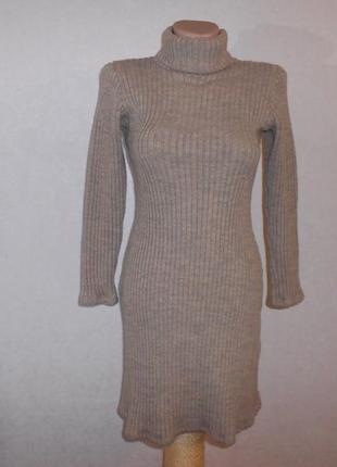 Melville платье в рубчик платье-лапша, италия, р.xs-s