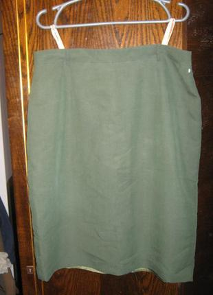 Натуральная юбка карадаш из модала на ацетатной подкладке офис betty barclay
