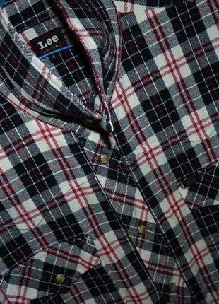 Оригинальная рубашка lee /размер l-xl