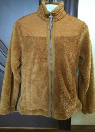 Уютная, мягкая курточка