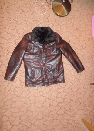 Куртка зимняя дублёнка