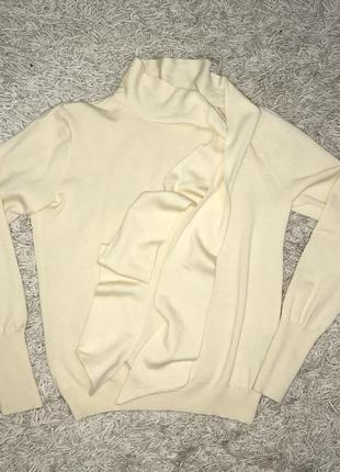 Брендовый свитер/кофта оригинал 100% шерсть мериноса