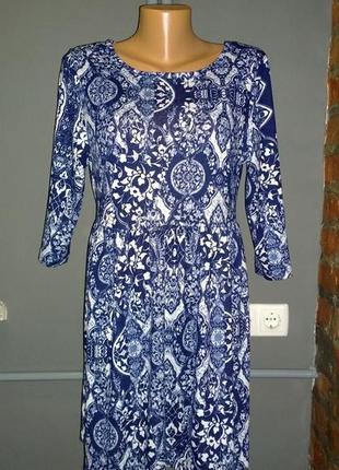Платье с принтом из джерси george