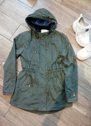 Парка куртка stradivarius