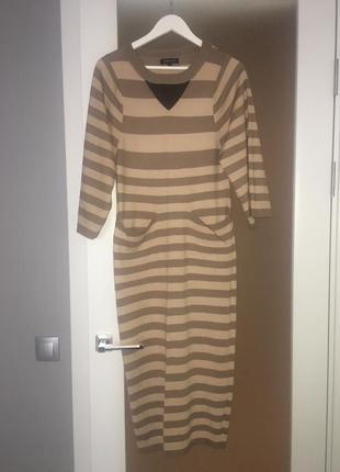 Платье в полоску,s