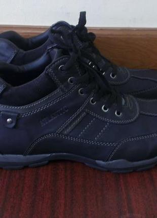 Ботинки кожаные мужские  atlantic, 43