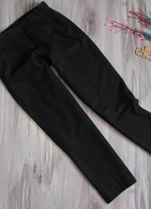 Теплые брюки на зиму 55 % шерсть размер eur 38-40