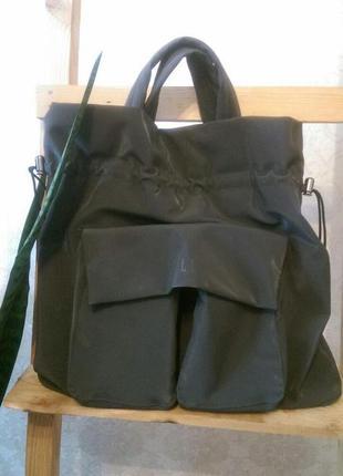 Стильная виниловая сумка от elle для особенной девочки