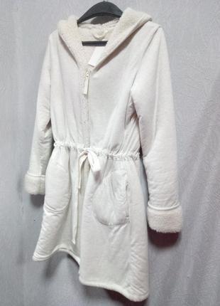Пальто кардиган с капюшоном m&s