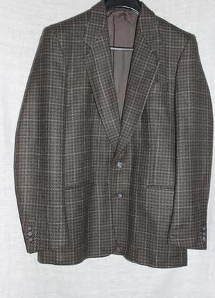 Пиджак modesto bertotto чистая натуральная шерсть