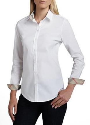 Белая рубашка burberry оригинал
