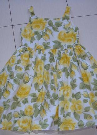 Яркое платье 6лет