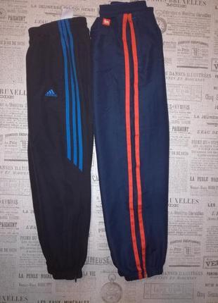 Фирменные спортивные штаны на 8-11 лет,один лот