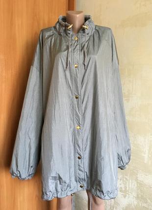 Шикарная двухсторонняя куртка,парка.р.7x++