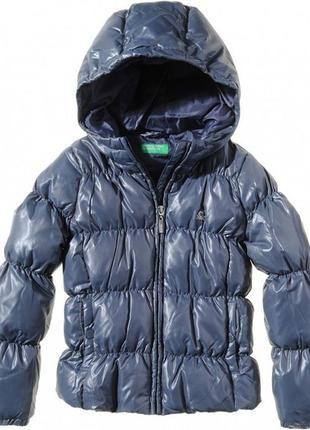 Курточка benetton пуховик 90 см