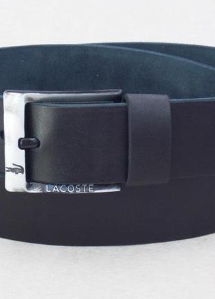 Широкий ремень мужской для джинс lacoste