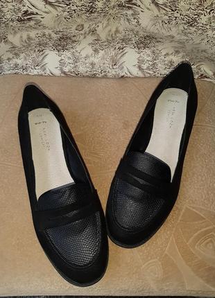 Женские новые осенне-весенние туфли-лодочки на 41 размер.
