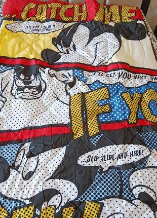 Одеяло силиконовой с микки маусом