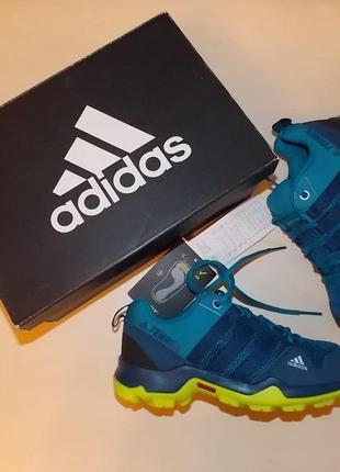 Фирменные кроссовки adidas performance terrex ax2r k р-р30(18.5см)оригинал