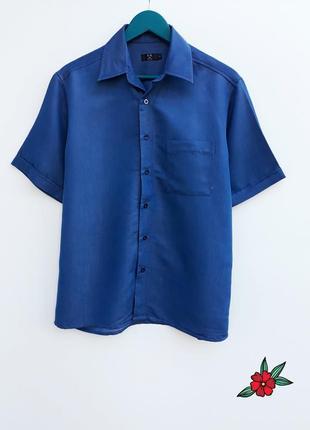 Крутая джинсовая рубашка мужская рубашка