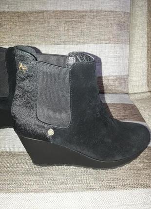 Замшевые ботинки apepazza  итальянского бренда