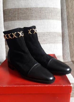 Ботинки замшевые giusti desegnato  a firenze