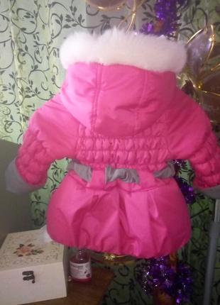 Хорошенькая курточка 86-92