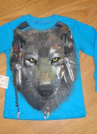 Реглан волк размер 92 см