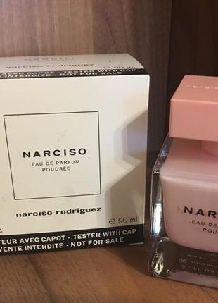 Narciso rodriguez poudree тестер