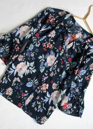Yessica/милая блуза из вискозы с воланами от немецкого бренда/💯%-вискоза
