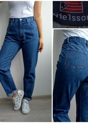 Джинсы бойфренды мом с высокой посадкой mom jeans nielsson