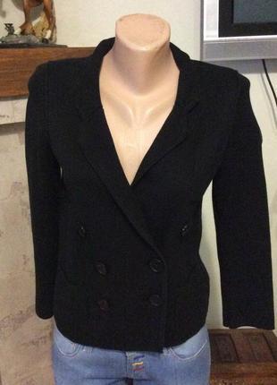 Sonia rykiel for h m пиджак трикотажный черный
