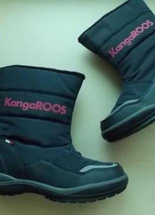 Фирменные сапоги kangaroos р-р35(22.5см)оригинал