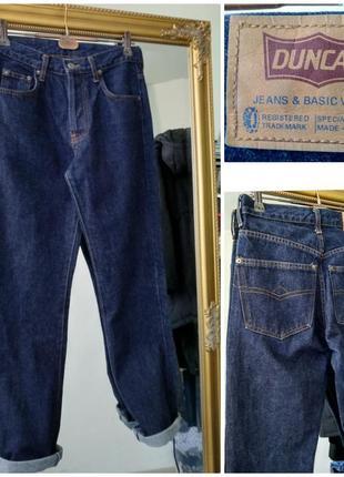 Бойфренды джинсы с высокой посадкой duncan jeans