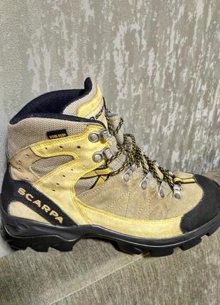 Треккинговые ботинки scarpa! gore-tex! оригинальные; отличное состояние