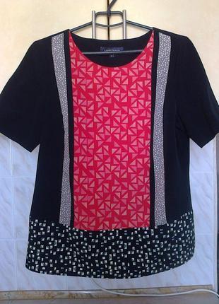 Шикарная блуза, идеально стройнит, можно в офис