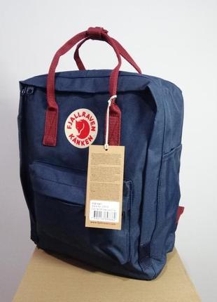 Рюкзак канкен fjallraven kanken сумка портфель classic класик 16 синий бордовый
