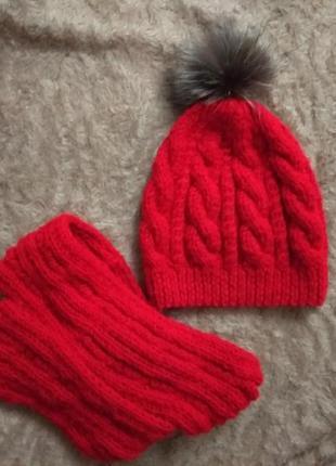 Набор хомут и шапка