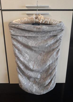 Нарядная ажурная юбка