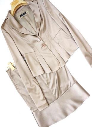 Костюм пиджак жакет юбка