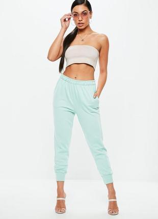 Ментоловые спортивные штаны