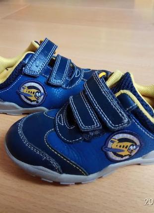 Шкіряні кросівки-туфельки чудової якості