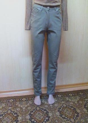 Джинсы,брюки,штаны,скинни,слим,цвет-кофе с молоком.story by tang.