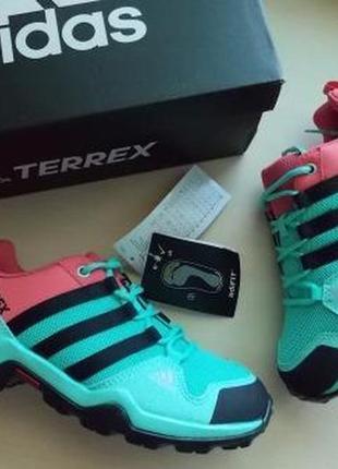 Фирменные кроссовки adidas terrex ax2r р-р 33(20.5см)оригинал