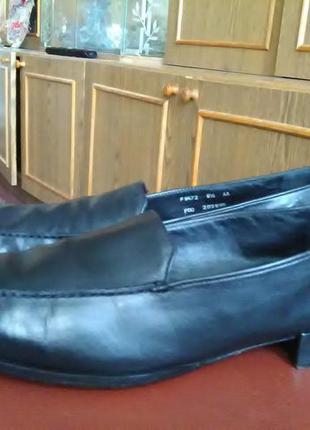 Туфли на низком ходу.натур. кожа.