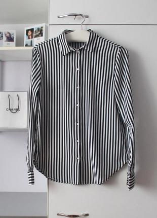 Рубашка в полоску от h&m