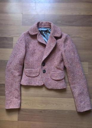 Шерстяной пиджак sisley