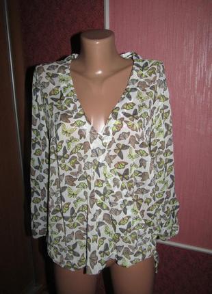 Блуза бабочки р-р 38-12 tom tailor