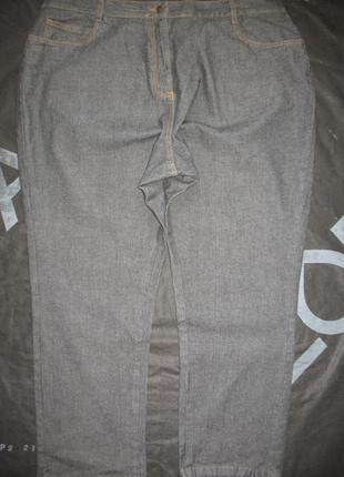 Женские джинсы большой размер